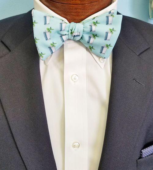 mint juleps bow tie