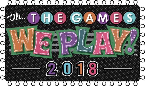 Oh The Games We Play 2018 Fantasy Fest Theme Logo