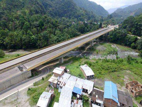 Vía Loboguerrero – Buenaventura - Viaducto Base Militar