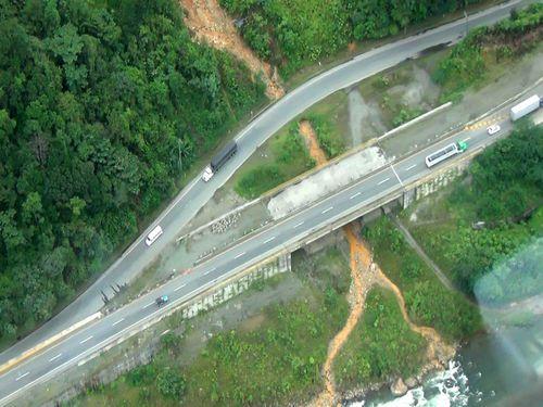 Vía Loboguerrero – Buenaventura – Puente Los Chorros