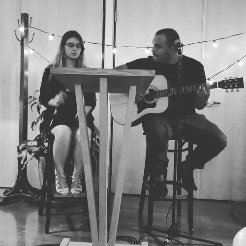 Laureanne and Juan at Music Friday.