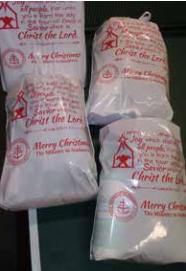 Christmas parcel bags