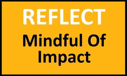 AgilityShip Practice #4 Mindful of Impact