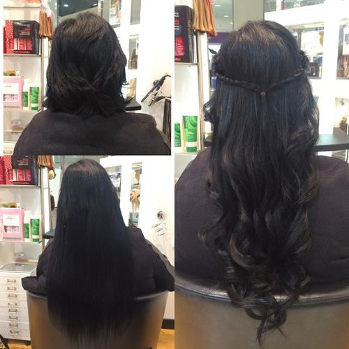Allure hair extensions braiding hair extension gallery hair extensions before after pmusecretfo Gallery