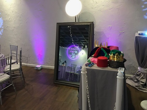 Paduano Studios Photo Booths in Syracuse NY with a Magic Mirror Photobooth