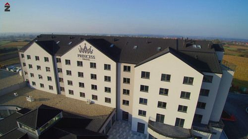 hotel princess jastrebarsko, fasada