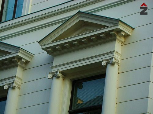 Renovacija fasade, zupanijski sud u Zagrebu, fasada