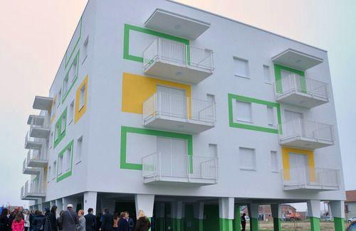 stambeni objekt, koprivnica A+, fasada