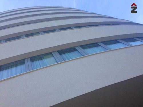 sarengradska sindikalni dom, tehnika, fasada