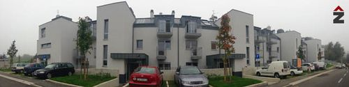 sokolovac stambeni, zagreb, fasada