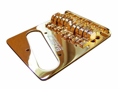Babicz Full Contact Hardware Telecaster Bridge Gold