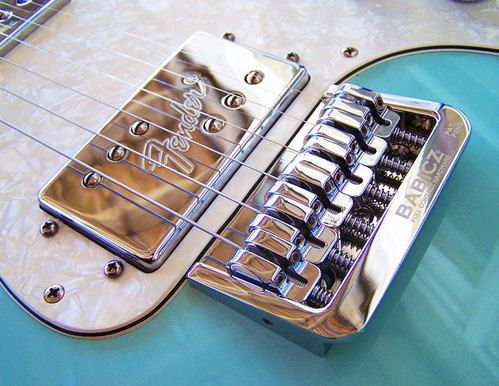 Babicz FCH-Fixed 6 Hardtail Original Series Guitar Bridge