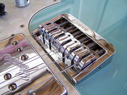 Babicz Fch Fixed 6 Hardtail Original Series Guitar Bridge
