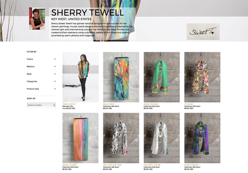 Sherry Sweet Tewell | Muralist + Fine Artist + Textile