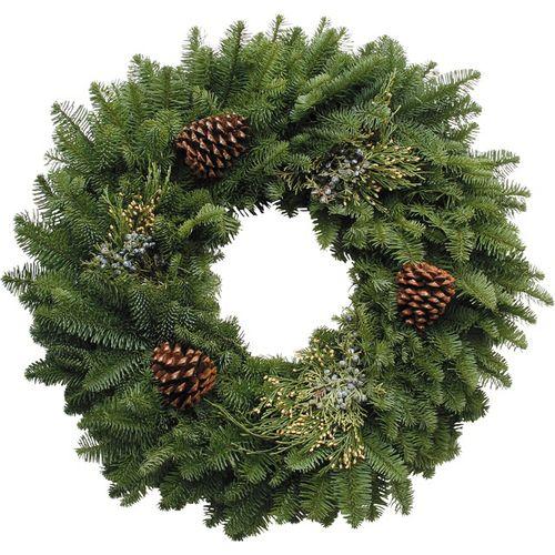 Mixed Noble Fir Wreath