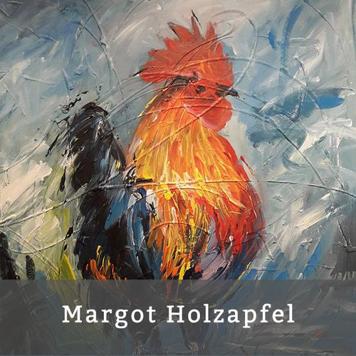 learn more about artist Margot Holzapfel