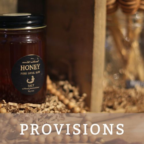 learn more about products sold at SALT island provisions