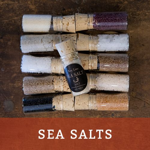 explore sea salts available for sale at SALT island provisions