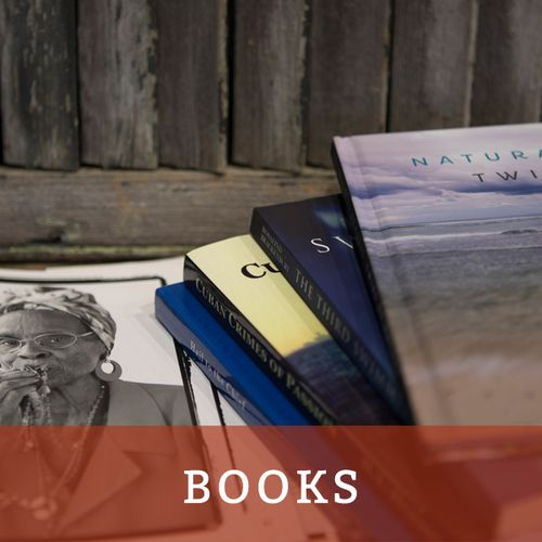 explore books available for sale at SALT island provisions